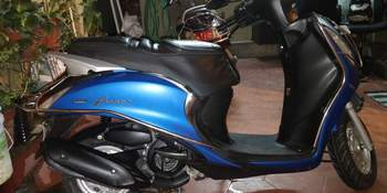 Yamaha Fascino Engine