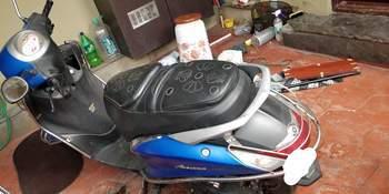 Yamaha Fascino Rear View