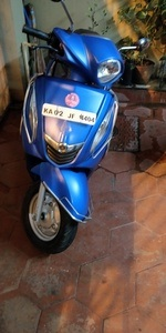 Yamaha Fascino Right Side