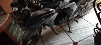 Yamaha Fazer V20 Fi Rear View