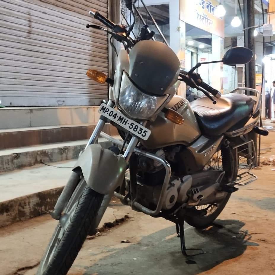 Suzuki Zeus Front View