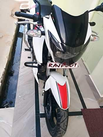 Tvs Apache Rtr 160 Left Side