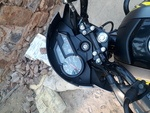 Yamaha Saluto Rear View