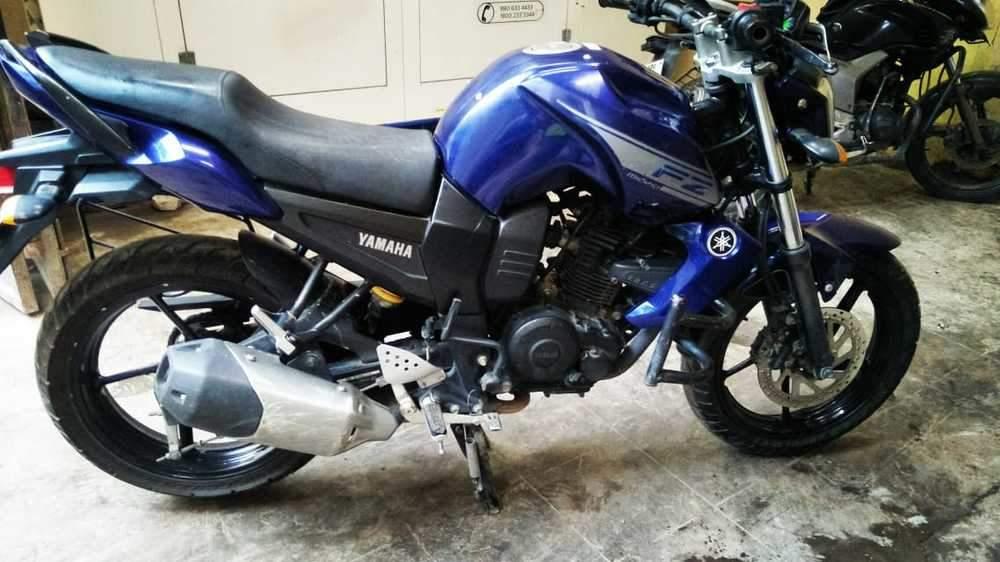 Yamaha Fz1 Rear View