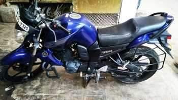 Yamaha Fz1 Left Side