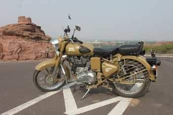 Royal Enfield Classic Desert Storm Front Tyre