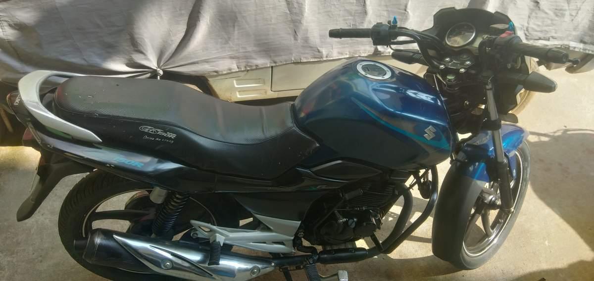 Suzuki Gs150r Front View