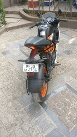 Ktm Rc 390 Rear View