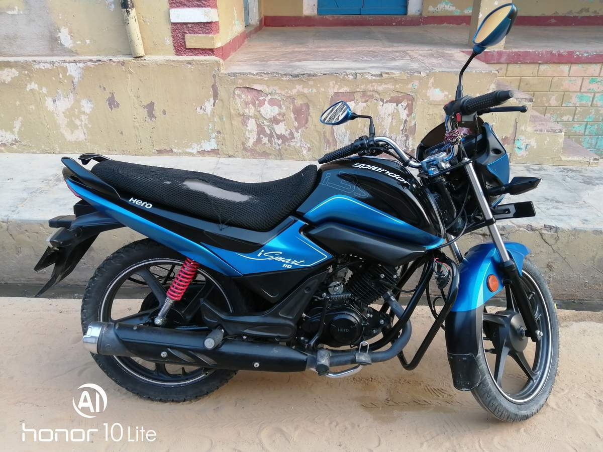 Hero Splendor Ismart 110 Front View