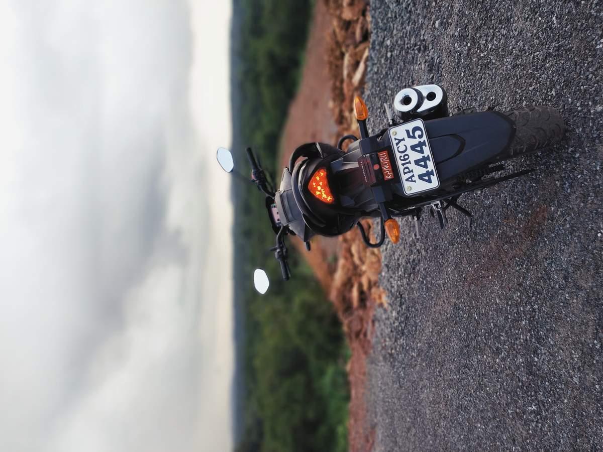 Suzuki Gixxer Rear View