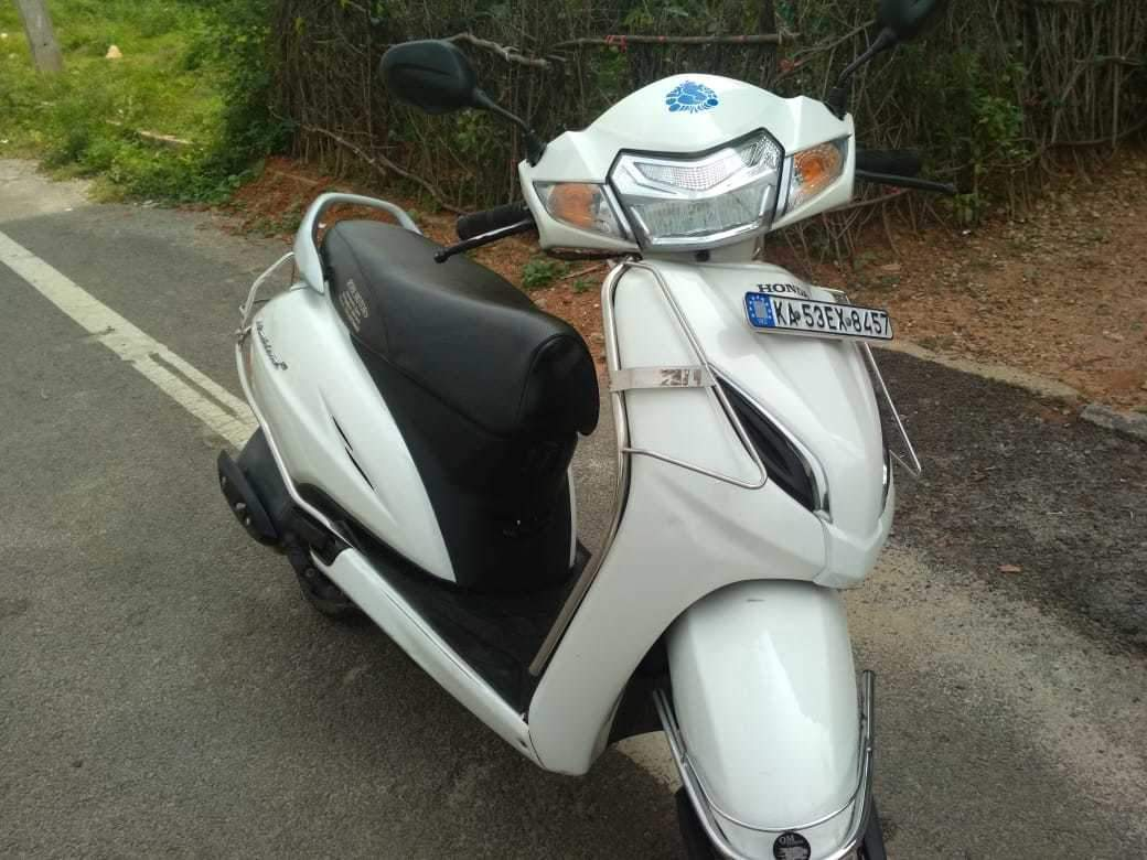 Honda Activa 125 Rear View