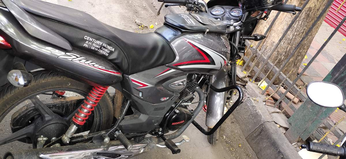 Honda Cb Shine Left Side