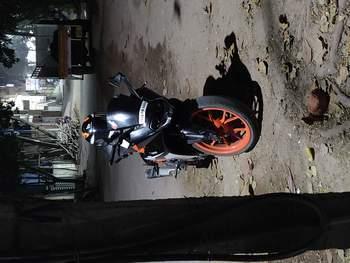 Ktm Rc 390 Left Side
