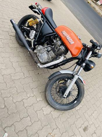 Royal Enfield Continental Gt Right Side