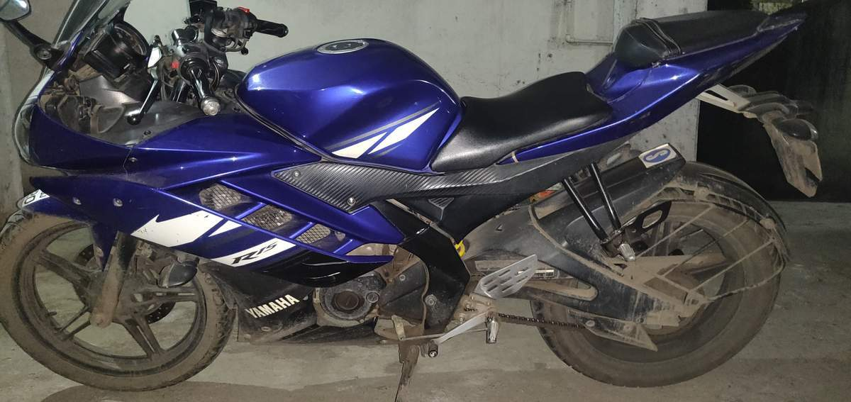 Yamaha Yzf R15 Right Side