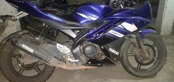 Yamaha Yzf R15 Left Side