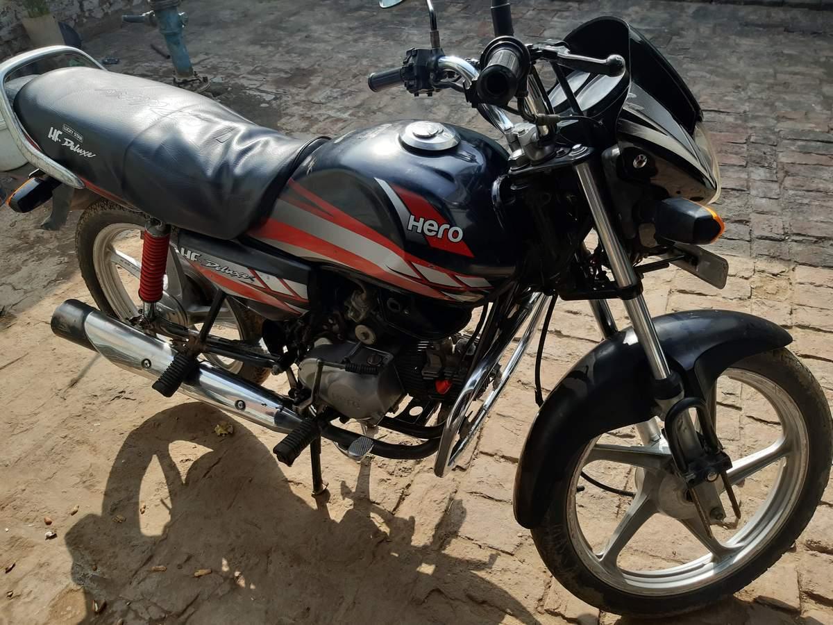 Used Hero Hf Deluxe Bike In Etah 2013 Model India At Best Price Id 43064