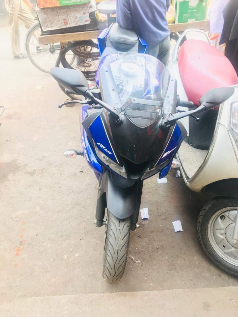 Yamaha R15 V30 Left Side