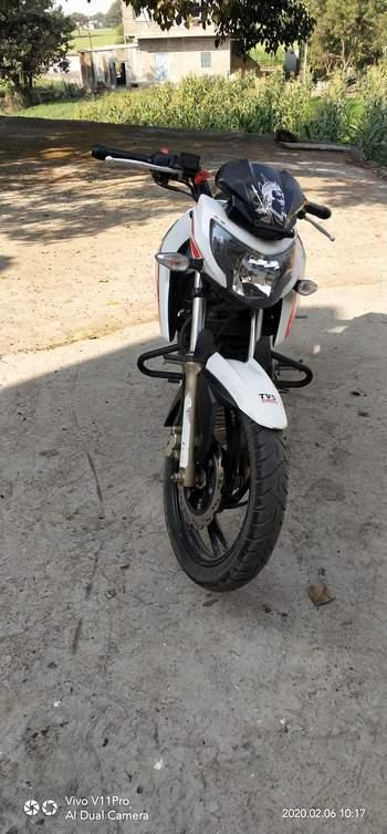 Tvs Apache Rtr 200 4v Left Side