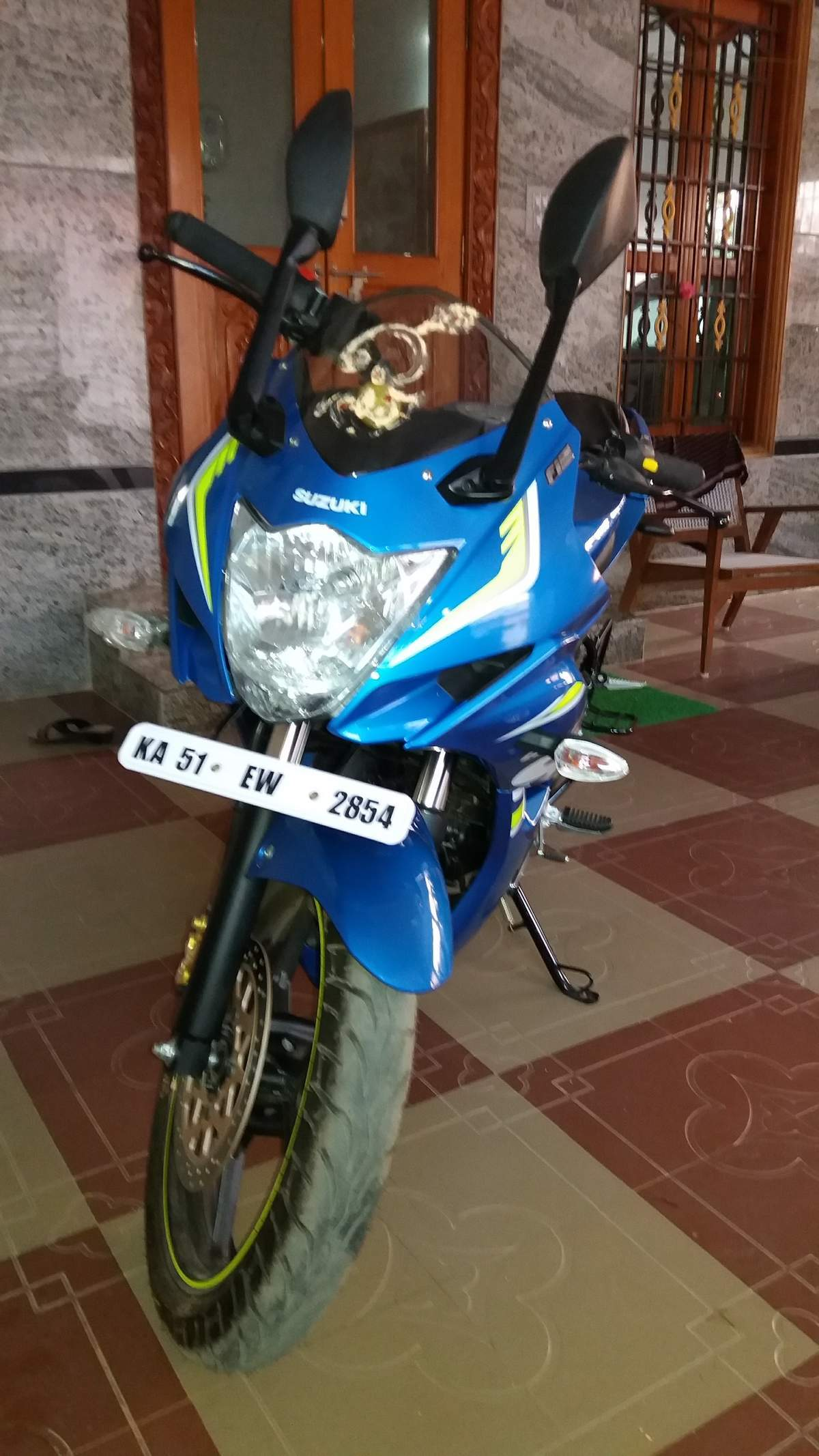 Suzuki Gixxer Sf Rear View
