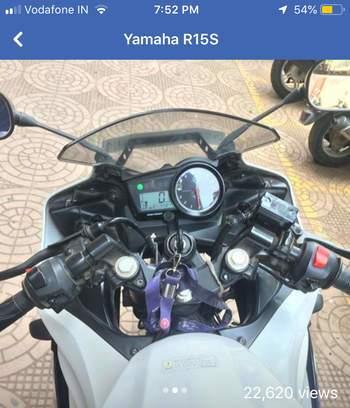Yamaha Yzf R15 V20 Right Side