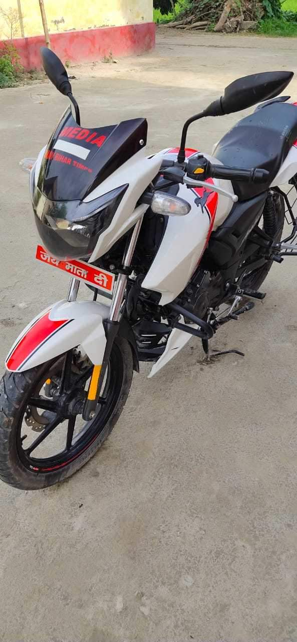 Tvs Apache Rtr 160 4v Rear View