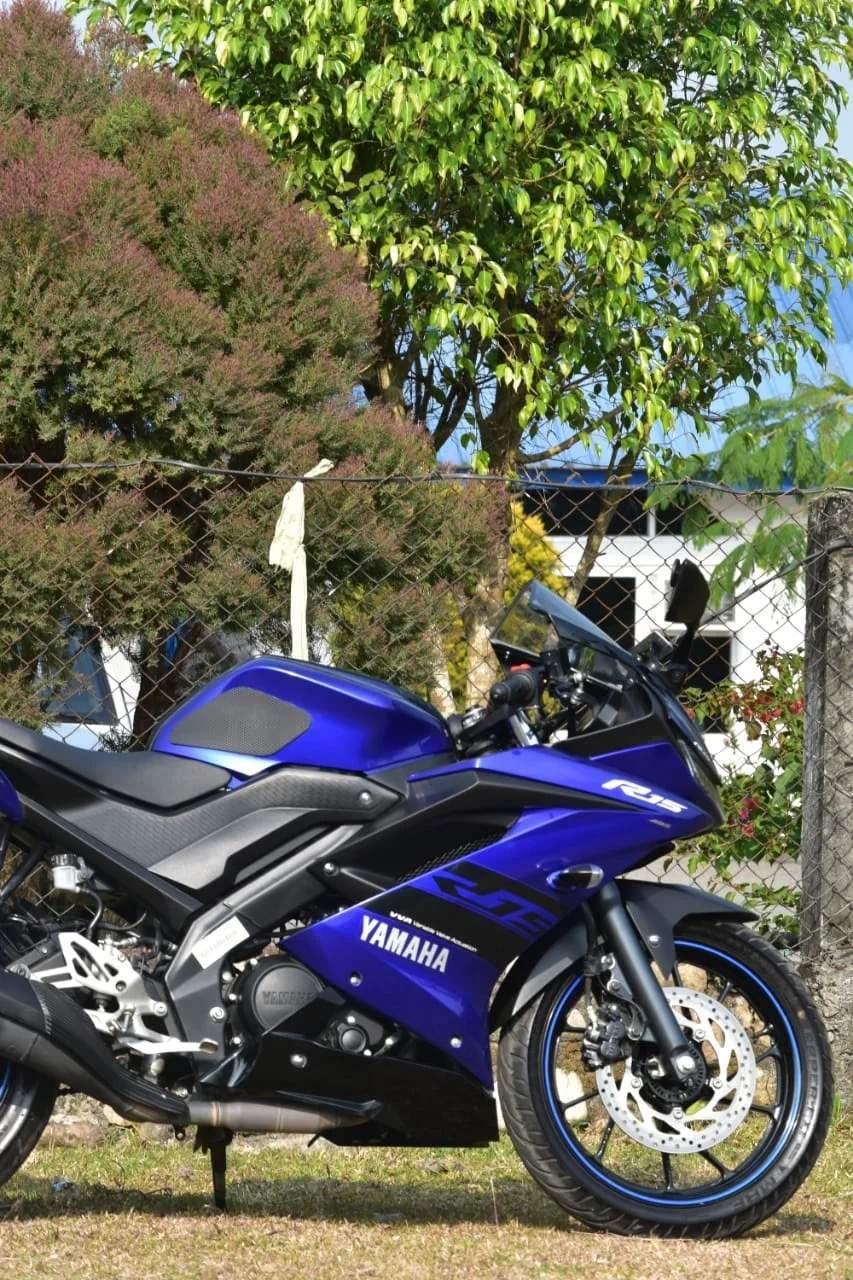 Yamaha R15 V30 Rear View