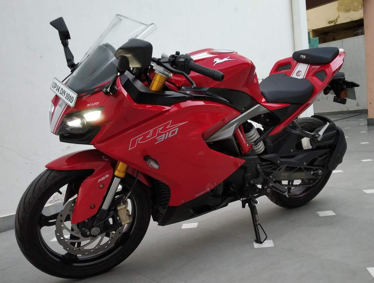 Tvs Apache Rr 310 Front View