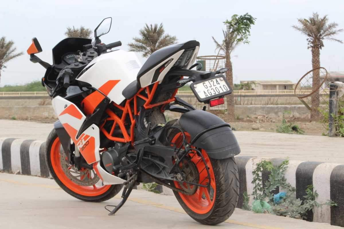 Ktm Rc 200 Front View