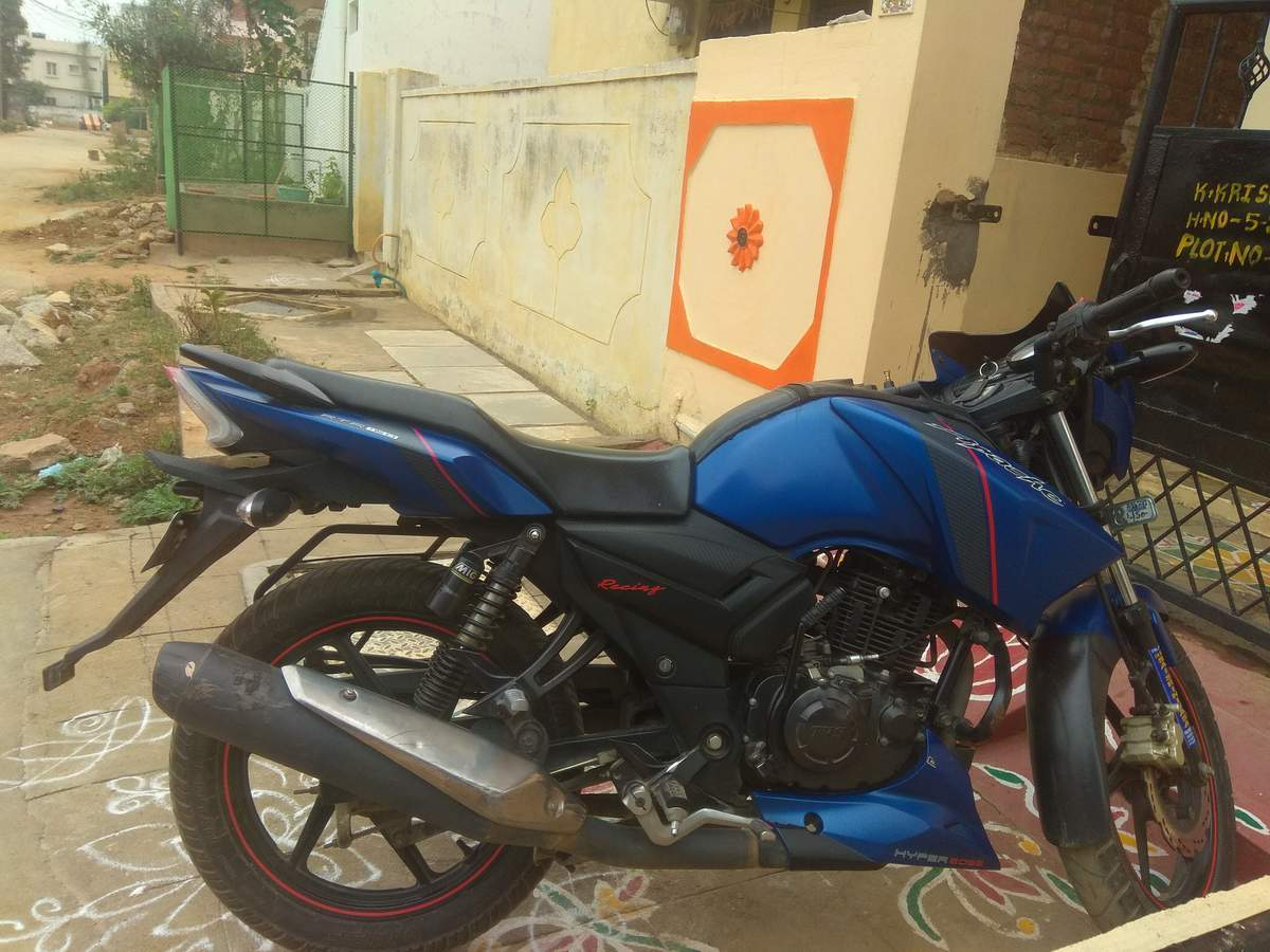 Tvs Apache Rtr 160 Front View
