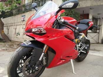 Ducati 959 Panigale Right Side