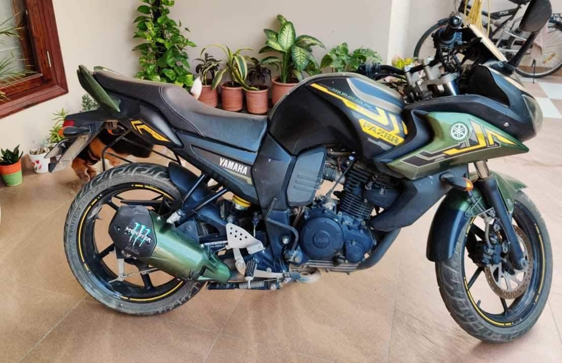 Yamaha Fazer Rear View