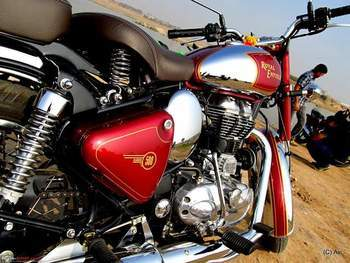 Royal Enfield Classic Chrome Front Tyre