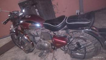 Royal Enfield Classic Chrome Left Side