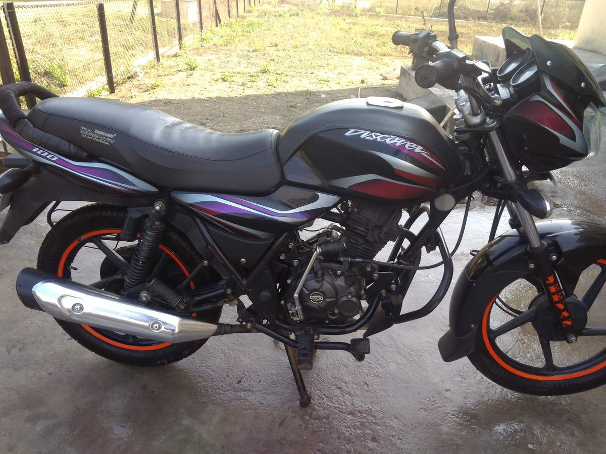 Bajaj Ct 100 Front View