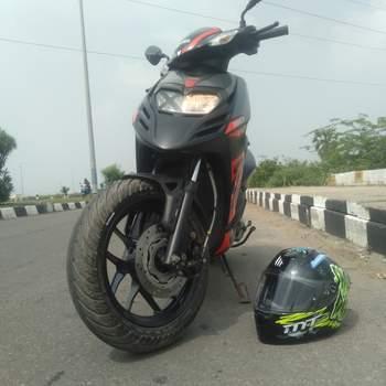 Aprilia Sr 150 Rear Tyre