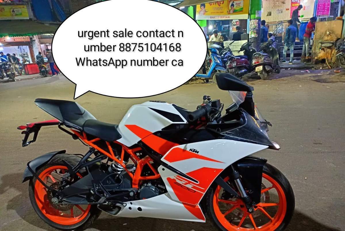 Ktm Rc 200 Right Side