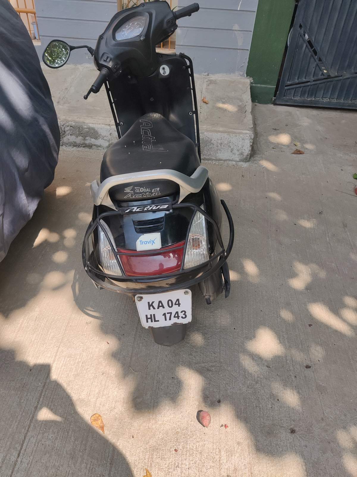 Honda Activa Rear View