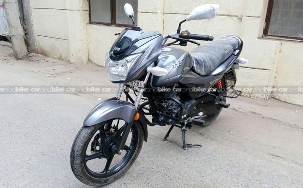 Tvs Victor Std Front View