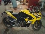 Bajaj Pulsar Rs 200 Front Tyre
