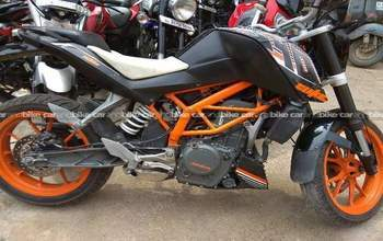Ktm 200 Duke Std Left Side
