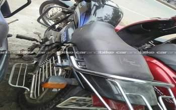 Hero Honda Splendor Plus Std Rear View