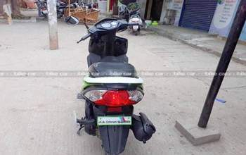 Honda Dio Dlx Right Side