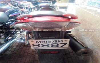 Hero Honda Cbz Xtreme Std Rear View