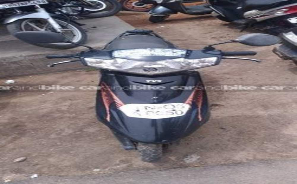 Tvs Scooty Teenz Std Front View