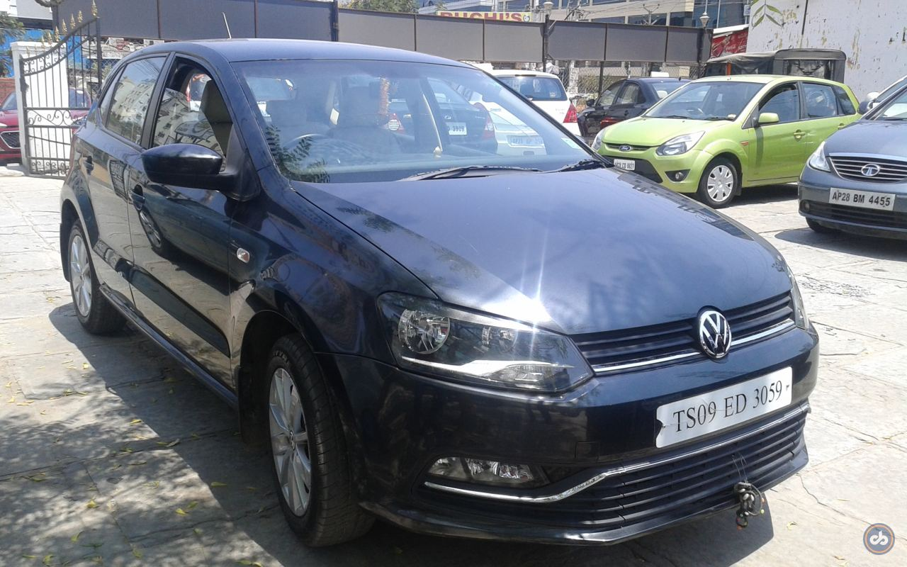 volkswagen polo  highline petrol  hyderabad  model india   price id