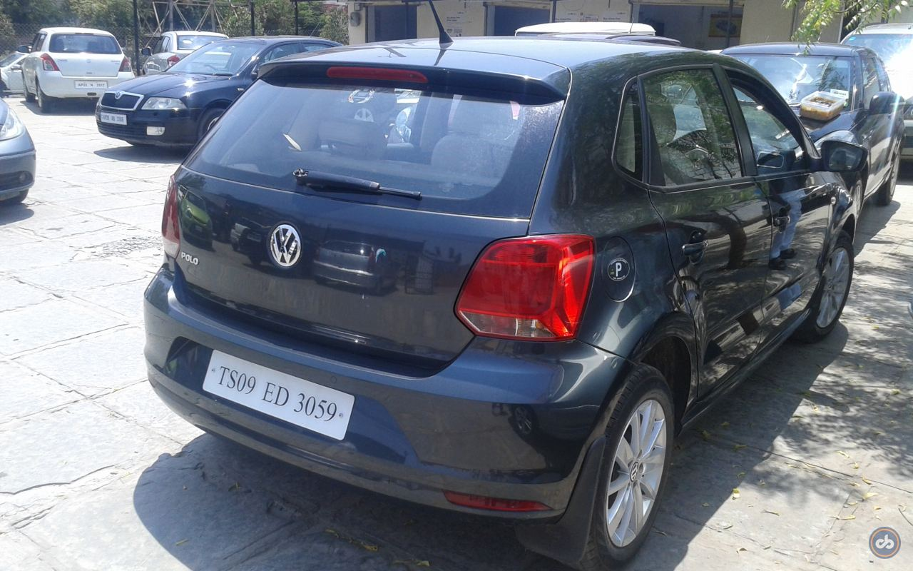 Used Volkswagen Polo 1 2 Highline Petrol In Hyderabad 2014