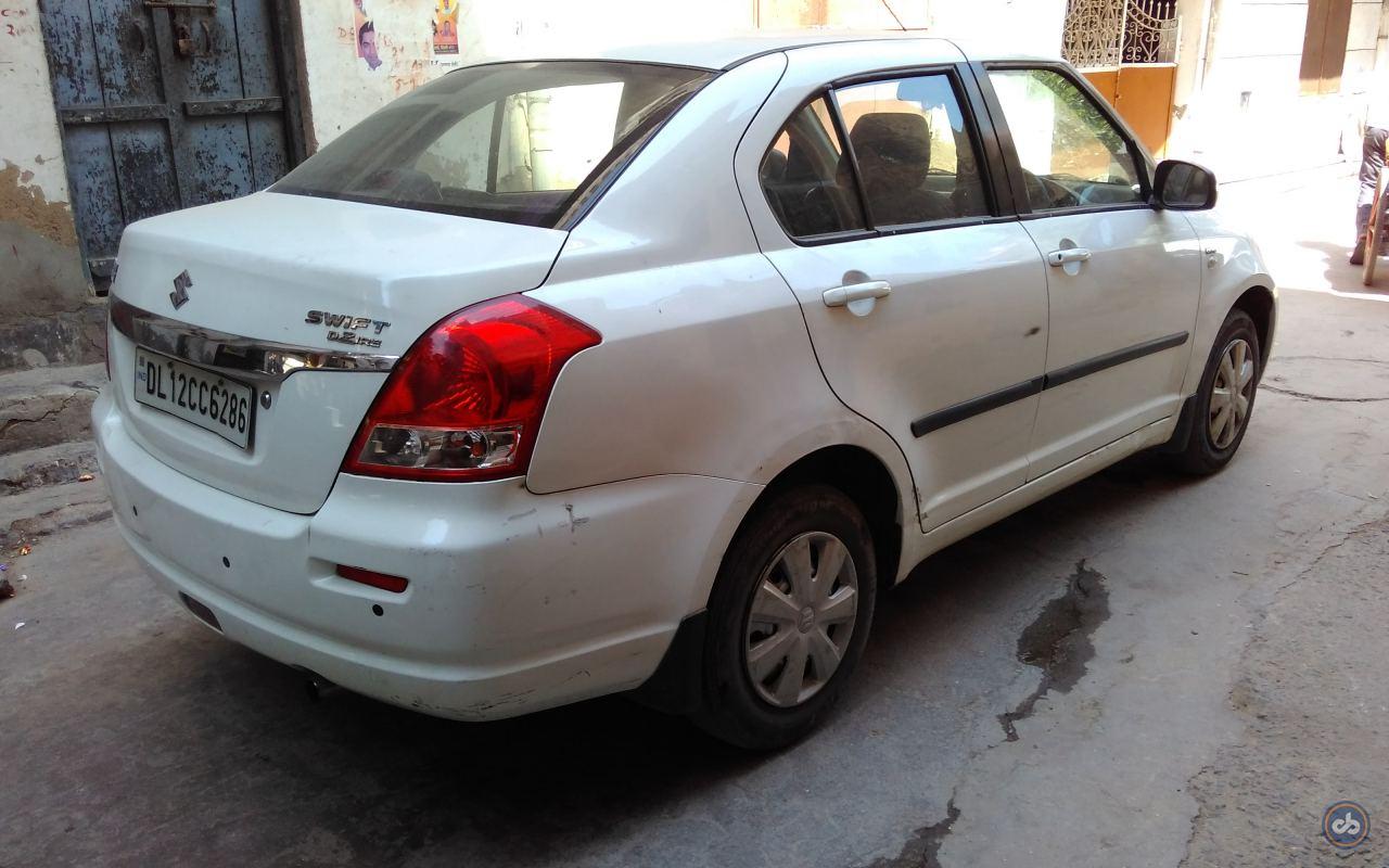 Used Maruti Suzuki Swift Dzire Ldi In West Delhi 2012