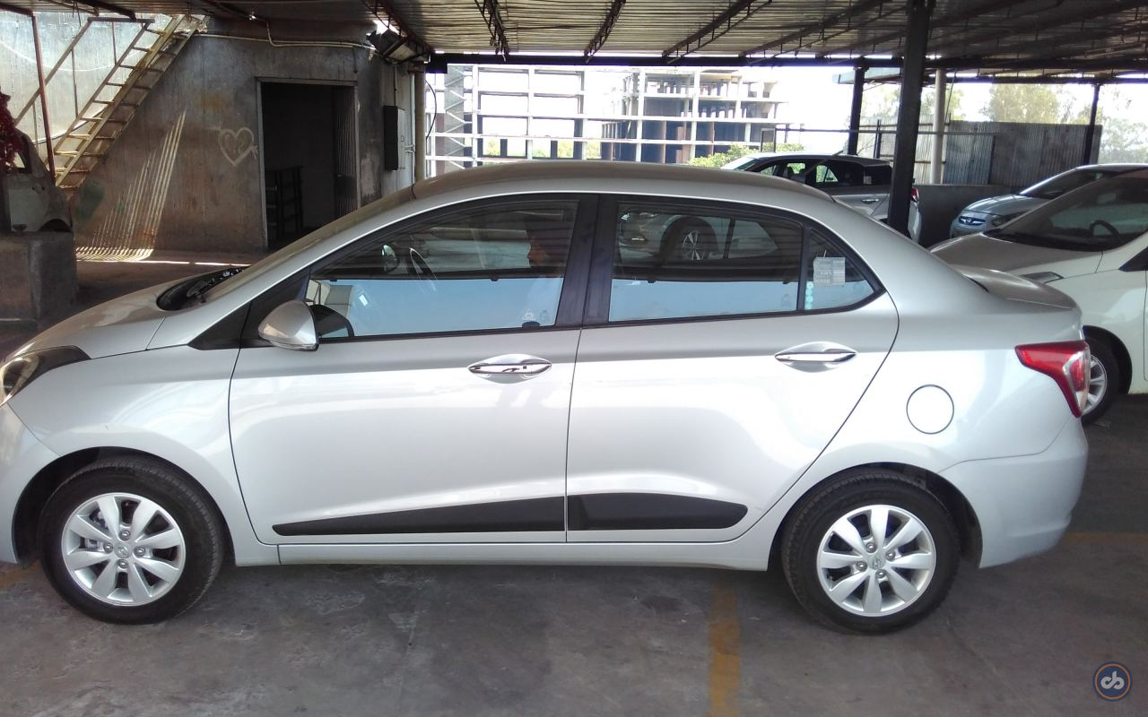 used hyundai xcent sx petrol in chandigarh 2014 model