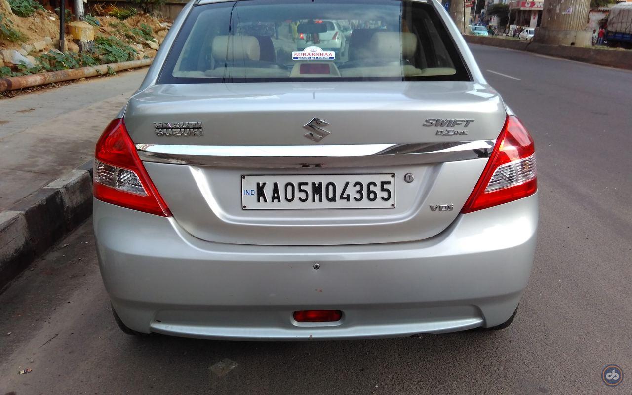 Used Maruti Suzuki Swift Dzire Vdi In Bangalore 2014 Model